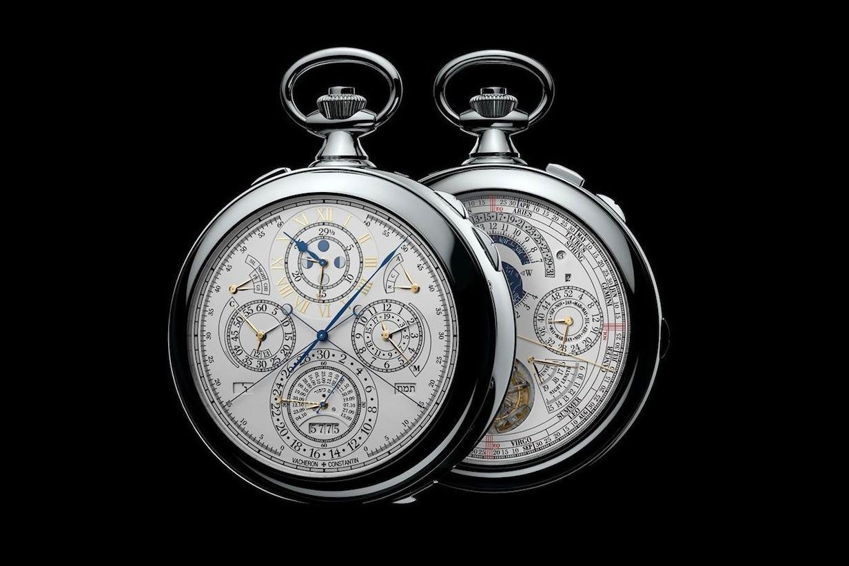 According to iconic and legendary watchmaker Vacheron Constantin, the Reference 57260 pocket watch is the world's most complicated watch ever made.