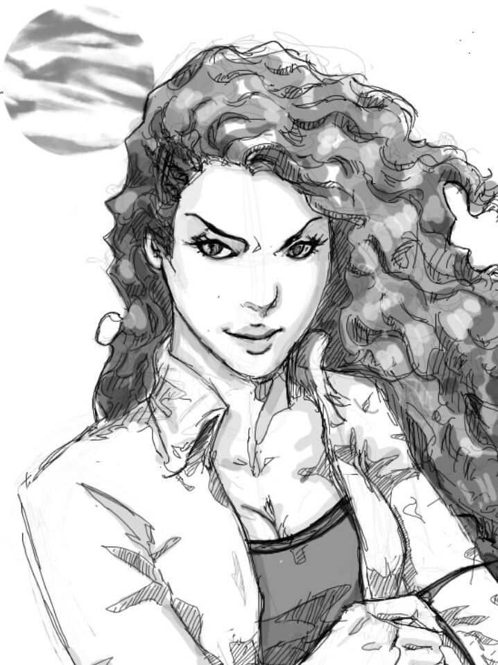 Maya - Shadowhunters,the mortal instruments - fan art <-- Maya is black! This girl looks more like Clary to me...