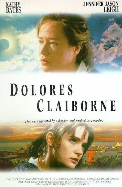 Dolores Claiborne Movie Poster Dolores Claiborne Movie Posters Stephen King Movies
