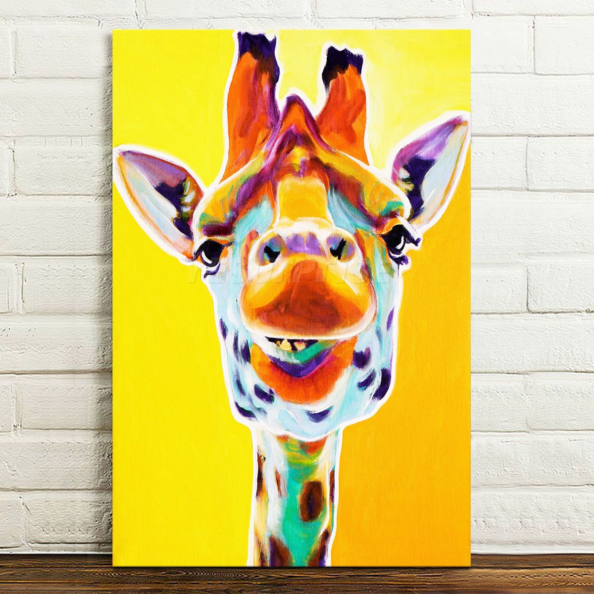 Canvas Prints Home Decor Wall Art Painting Picture-Colorful Deer ...