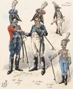 Quatres Fusiliers-grenadiers