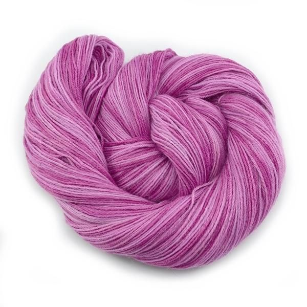 Pink Hand Dyed 4 ply Baby Alpaca Yarn