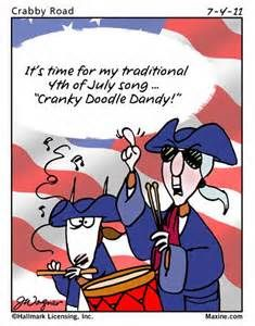 Maxine on the 4th of July