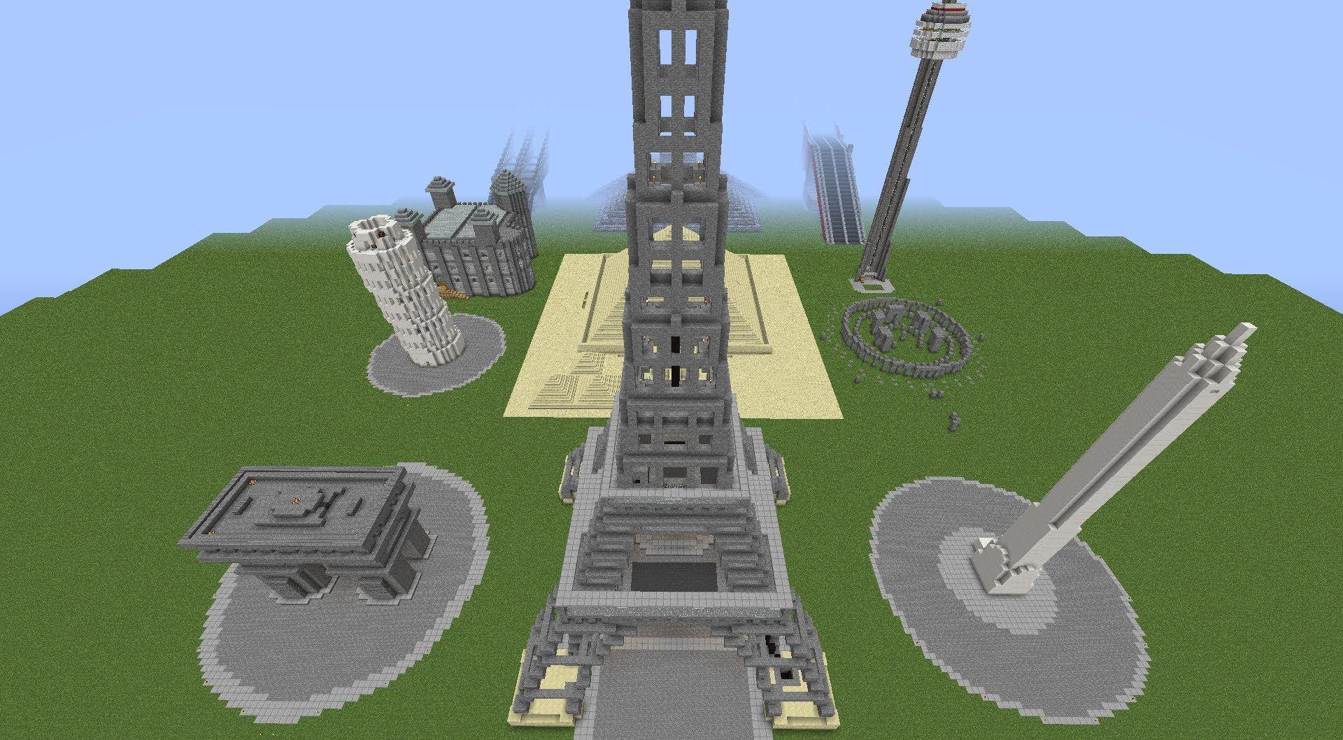 Minecraft Monuments Trailer Monument Minecraft Trailer
