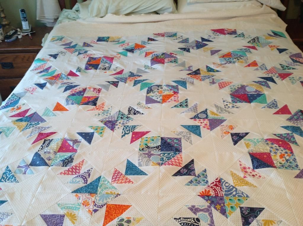 Magical Jelly Roll Quilts | Flying geese, Jelly roll quilting and ... : quilt flying geese - Adamdwight.com