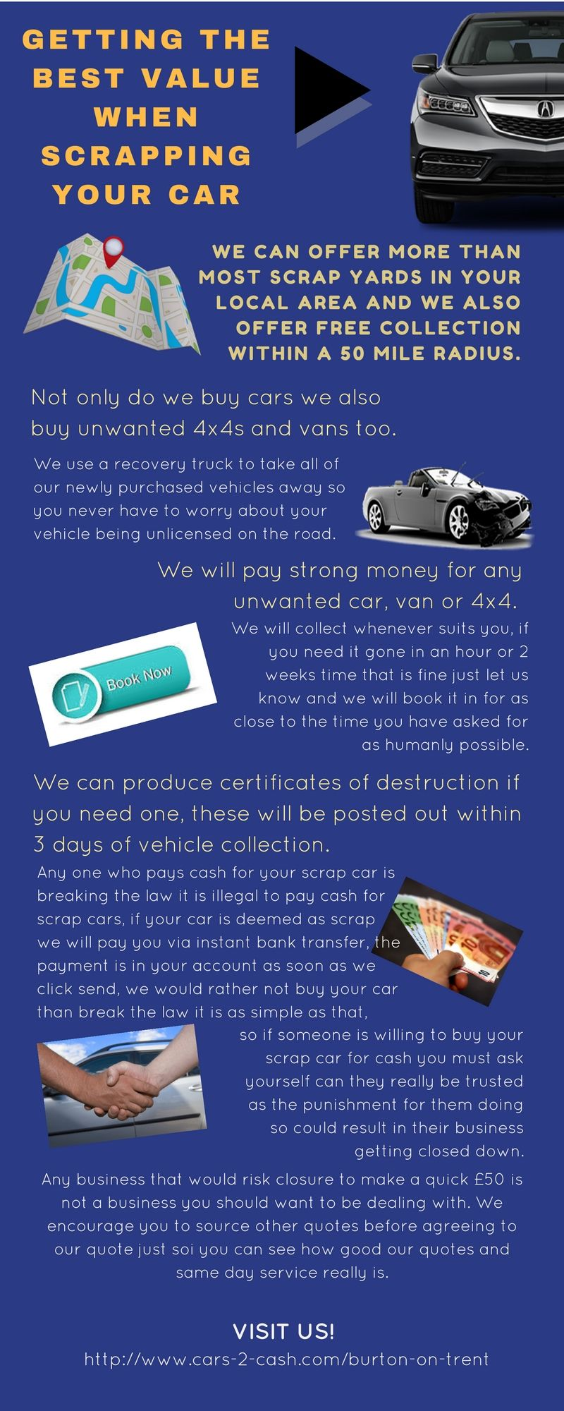 Cars-2-Cash team are dedicated to getting you the best value ...