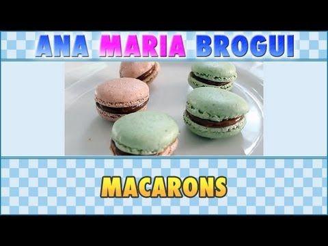 ▶ Ana Maria Brogui # 86 - Como fazer Macarons - YouTube