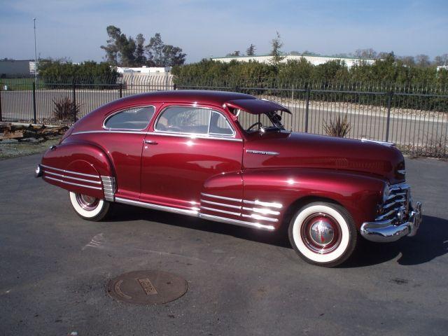 Pictures Of Vintage Cars Chevrolet 1948 Fleetline Fastback 1948