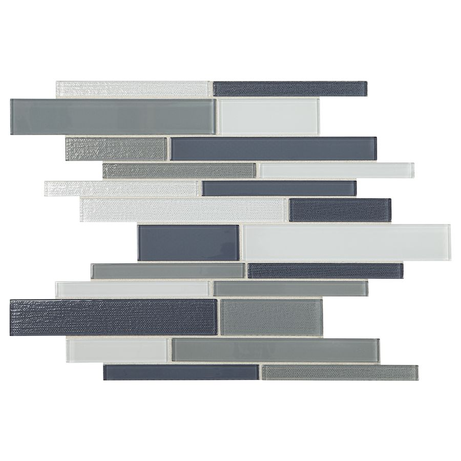 American olean delfino mixed blue gray linear mosaic glass wall american olean delfino mixed blue gray linear mosaic glass wall tile common 12 dailygadgetfo Choice Image