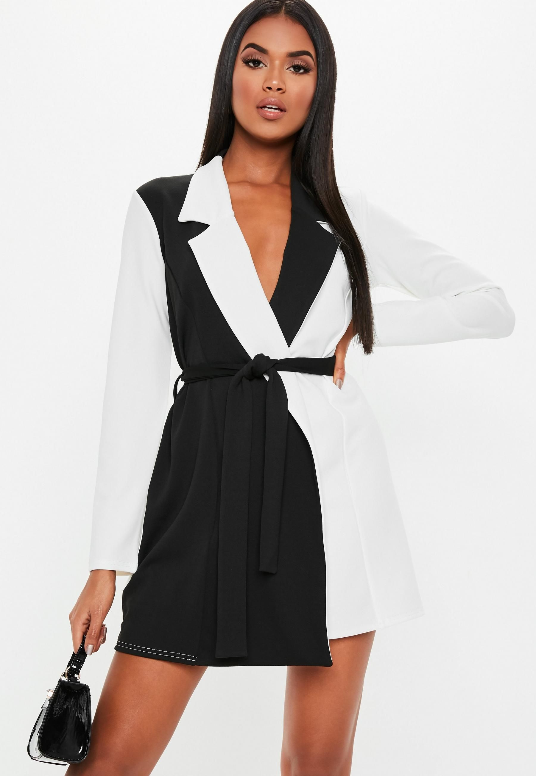 UK Womens Winter Belted Long Sleeve Dresses Evening Party Cocktail Mini Dress