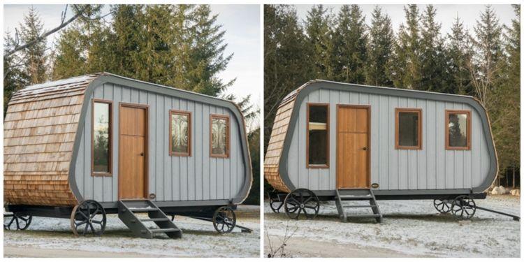 caravane moderne caravane qui tangue   defrost