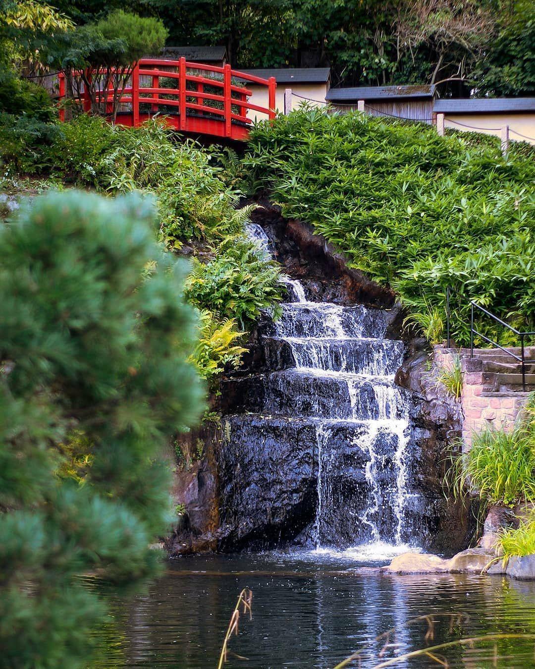 Kevinprovo Japanischer Garten Kaiserslautern Japanischergarten Brucke Rotebrucke Visitlautern War Japanischer Garten Garten Gartenbrucken