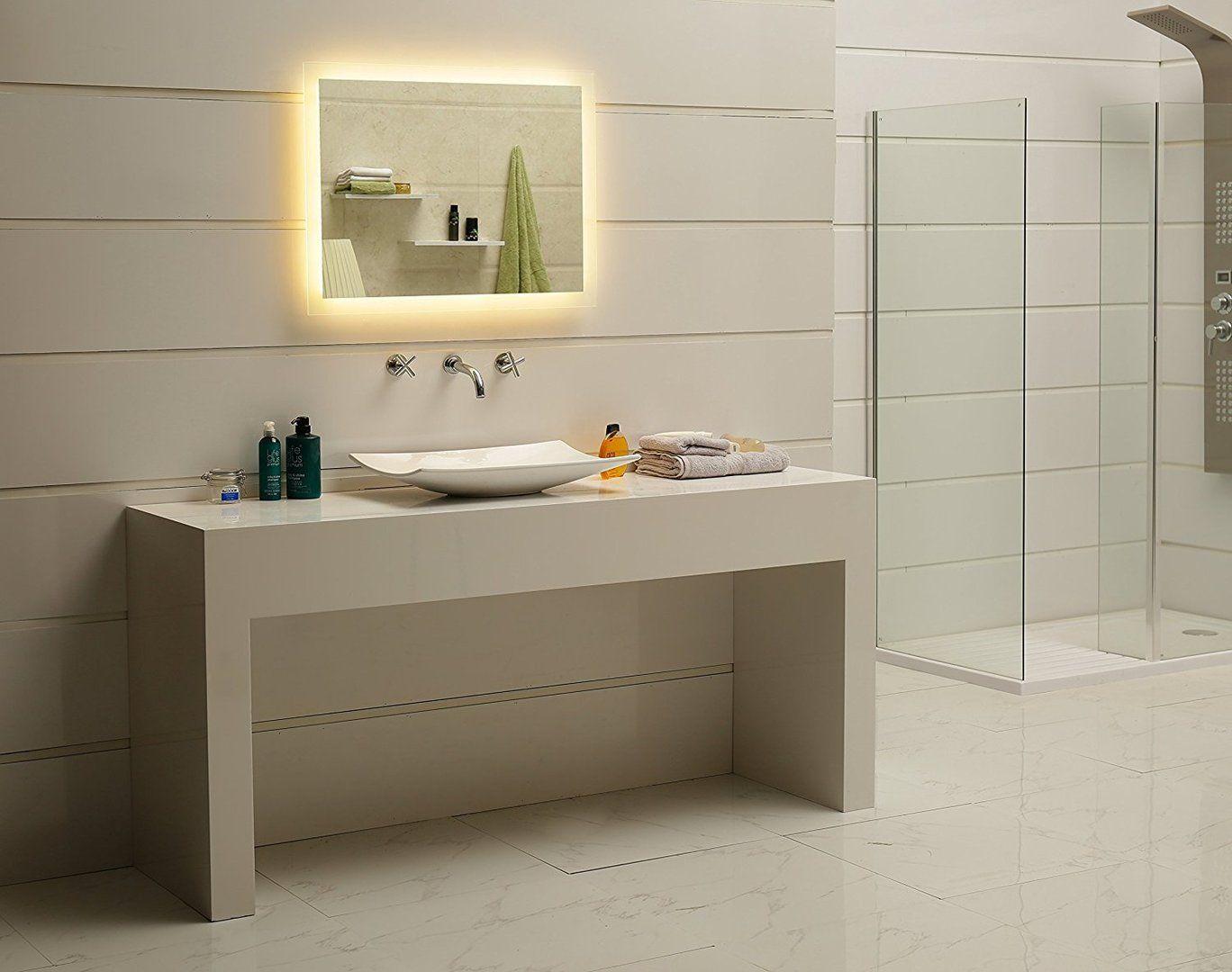 Led Lichtspiegel Kostan Badezimmer Badspiegel Inneneinrichtung Bathroom Lichtspiegel Lightedmirror Badaus Badezimmerspiegel Badspiegel Badspiegel Led