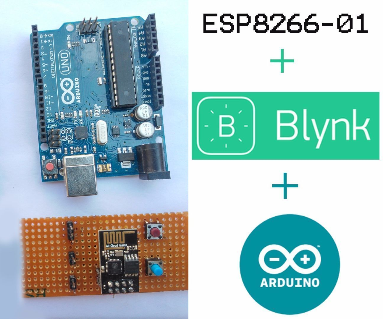 Connecting Esp8266 01 To Arduino Uno Mega And Blynk Stuffp Wiring Explore The Biggest How Diy Community Where People Make Share Inspiring Entertaining Useful Projects Recipes Hacks