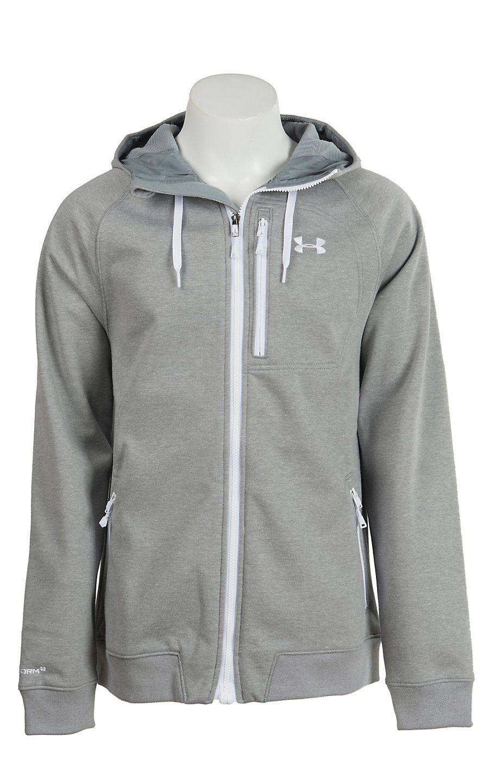 11abf86cd Under Armour Men's True Gray Heather UA Storm ColdGear Infrared Dobson  Softshell Jacket | Cavender's