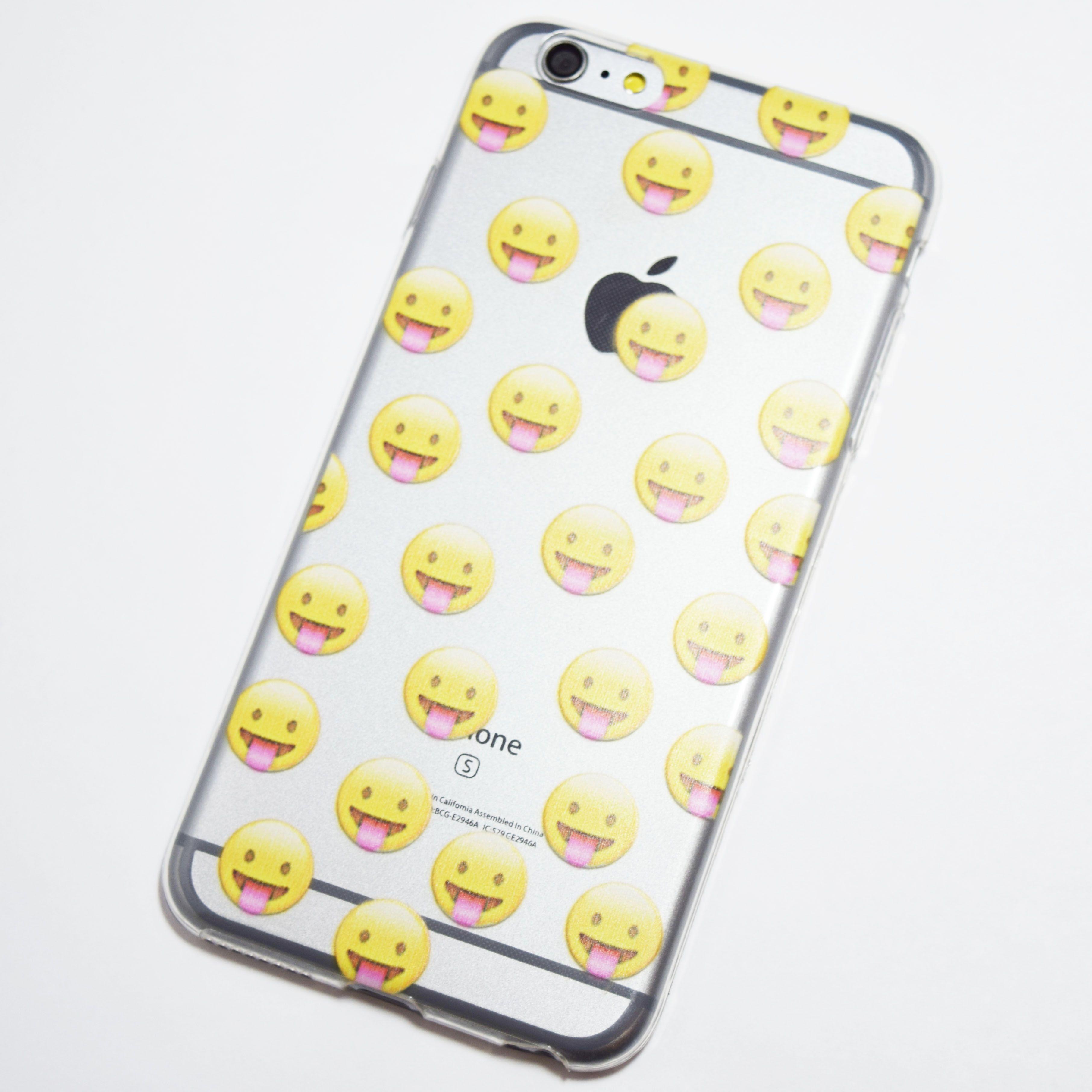 Tongue Emoji Iphone 6 Plus 6s Plus Case Retailite Iphone Case Iphone 6