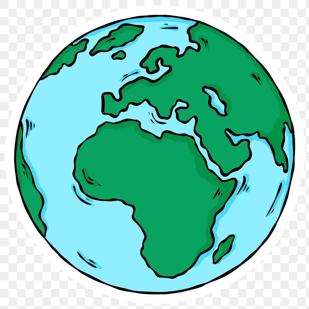 Download Free Png Of Png Continents Of Planet Earth Sticker By Noon About Globe Png Planet Png World Africa Cont Earth Drawings Earth Illustration Earth Art