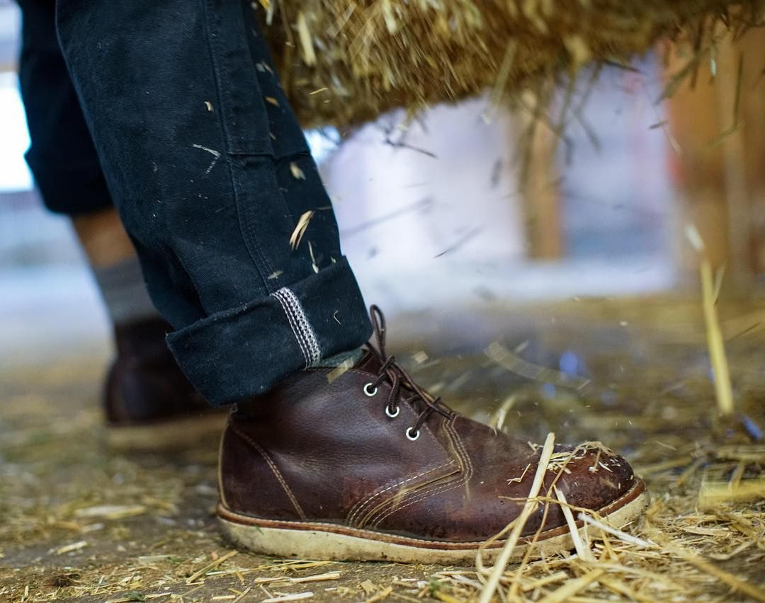 Men's Work Boots. A classic look