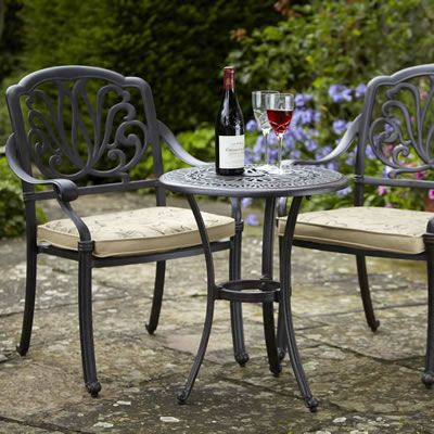 Hartman Amalfi Bistro Set in Bronze | Garden | Pinterest | Bistro ...