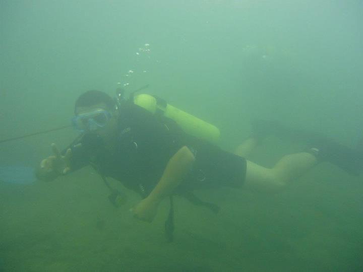 Sonho realizado em Bonito-MS. Meu primeiro mergulho com cilindro, SHOW!
