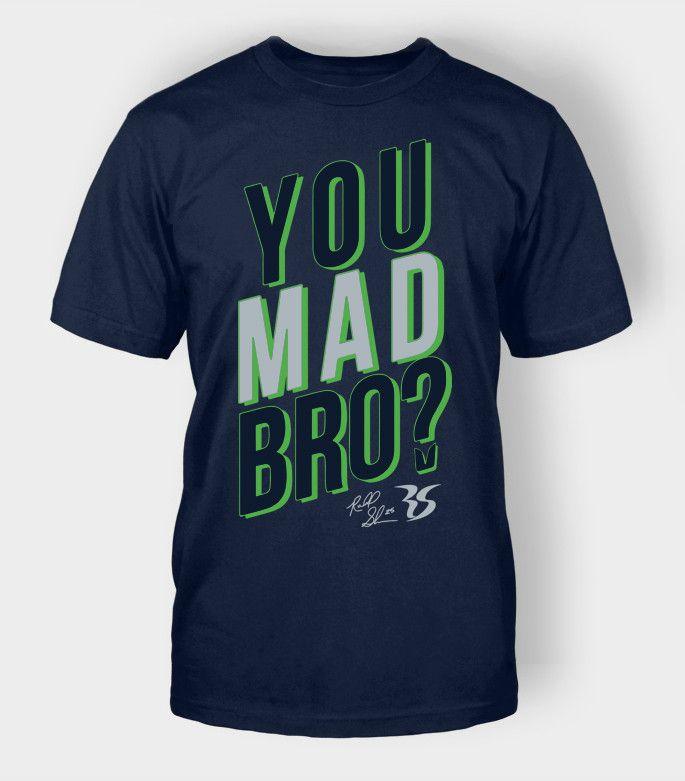 You Mad Bro Seattle Football Shirt   Richard Sherman Seattle Seahawks