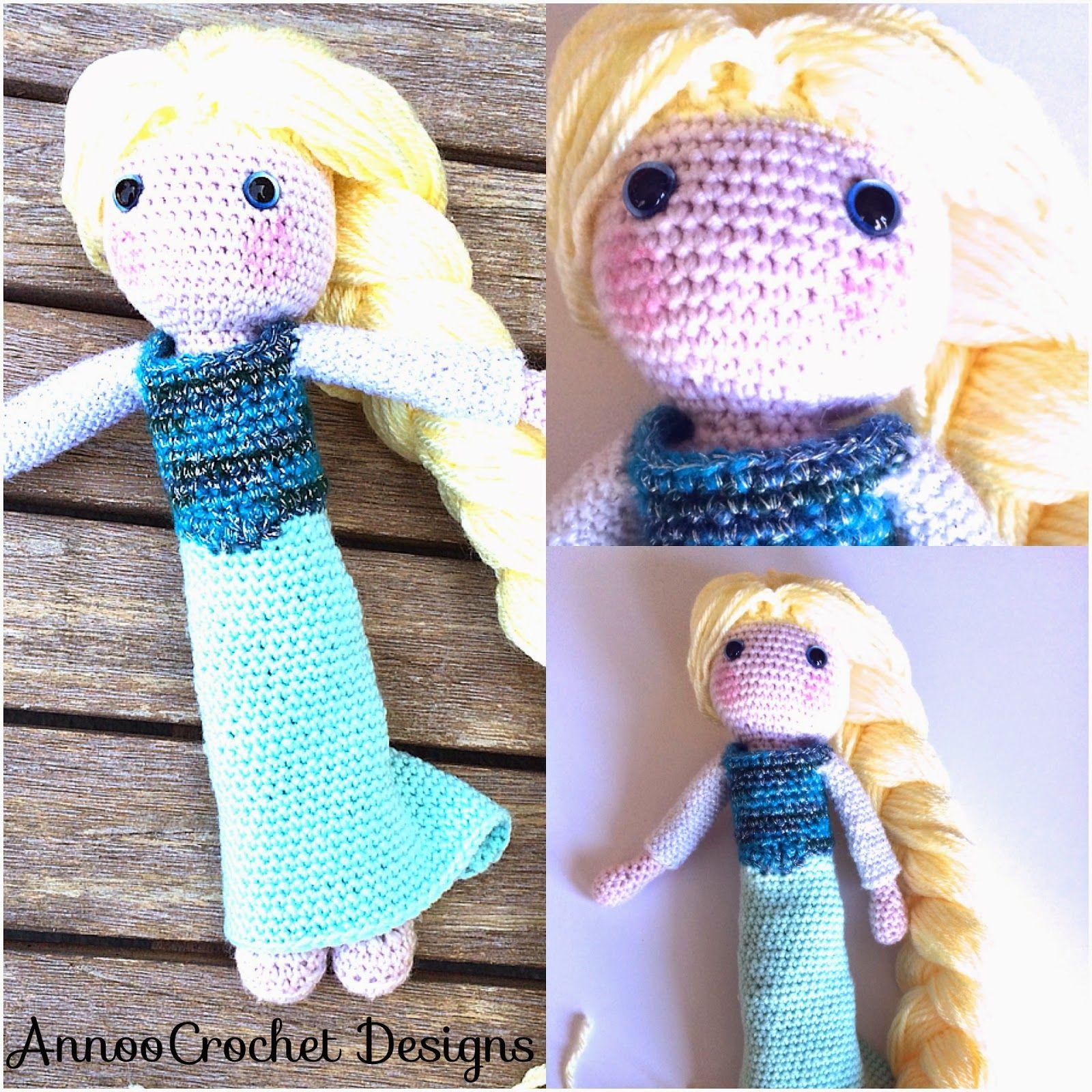 Crochet Elsa Doll Free : Elsa Crochet Doll Free Tutorial - Free Crochet Pattern ...