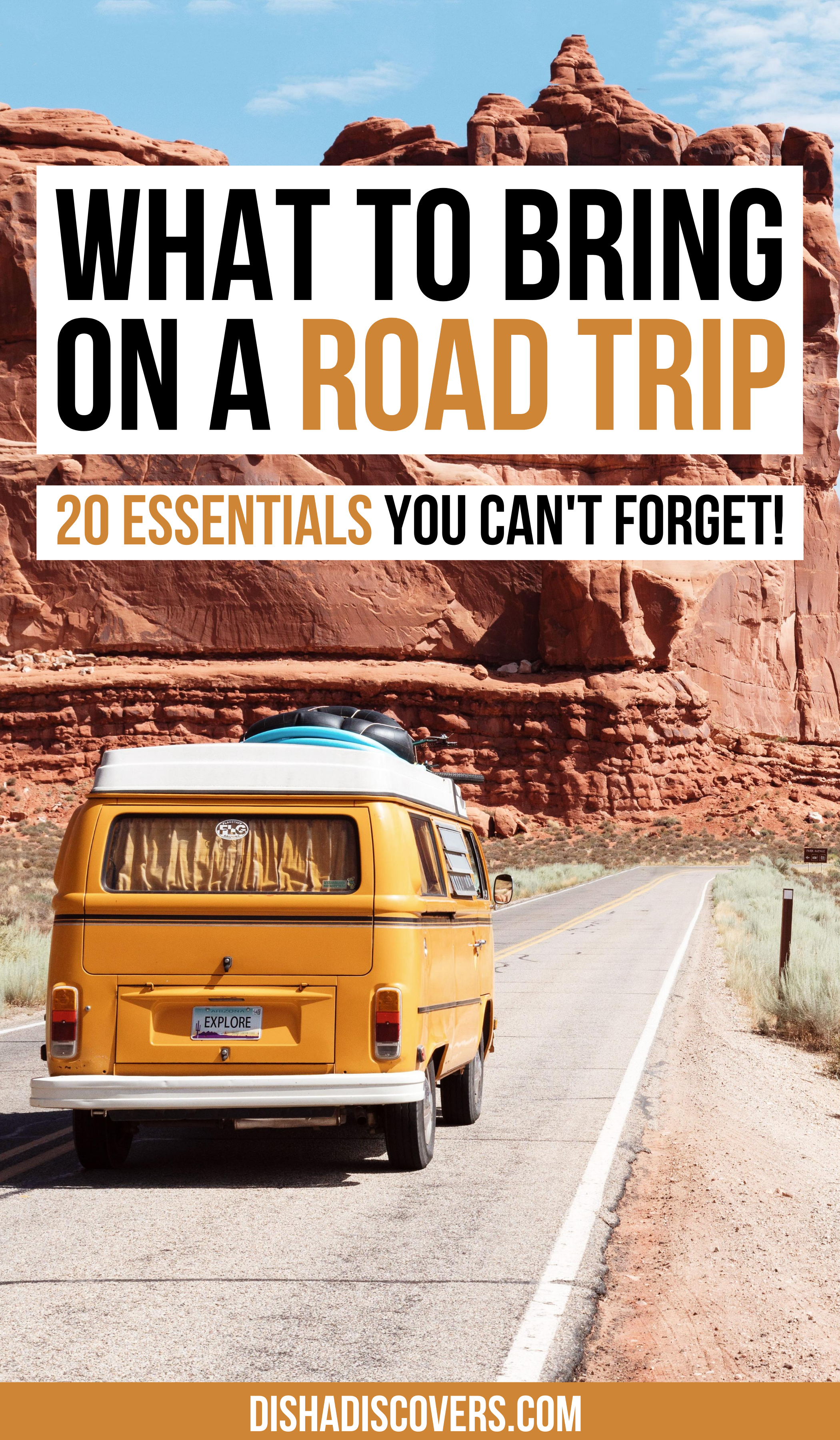 Road Trip Packing List: 20 Things You Shouldn't Travel ...