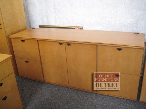 Long Storage Credenza For Sale Office Furniture Sale Used