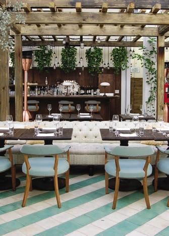 Top 5 Outdoor Dining Rooms In Miami Cecconi S Gibraltar Casa Tua The Dutch