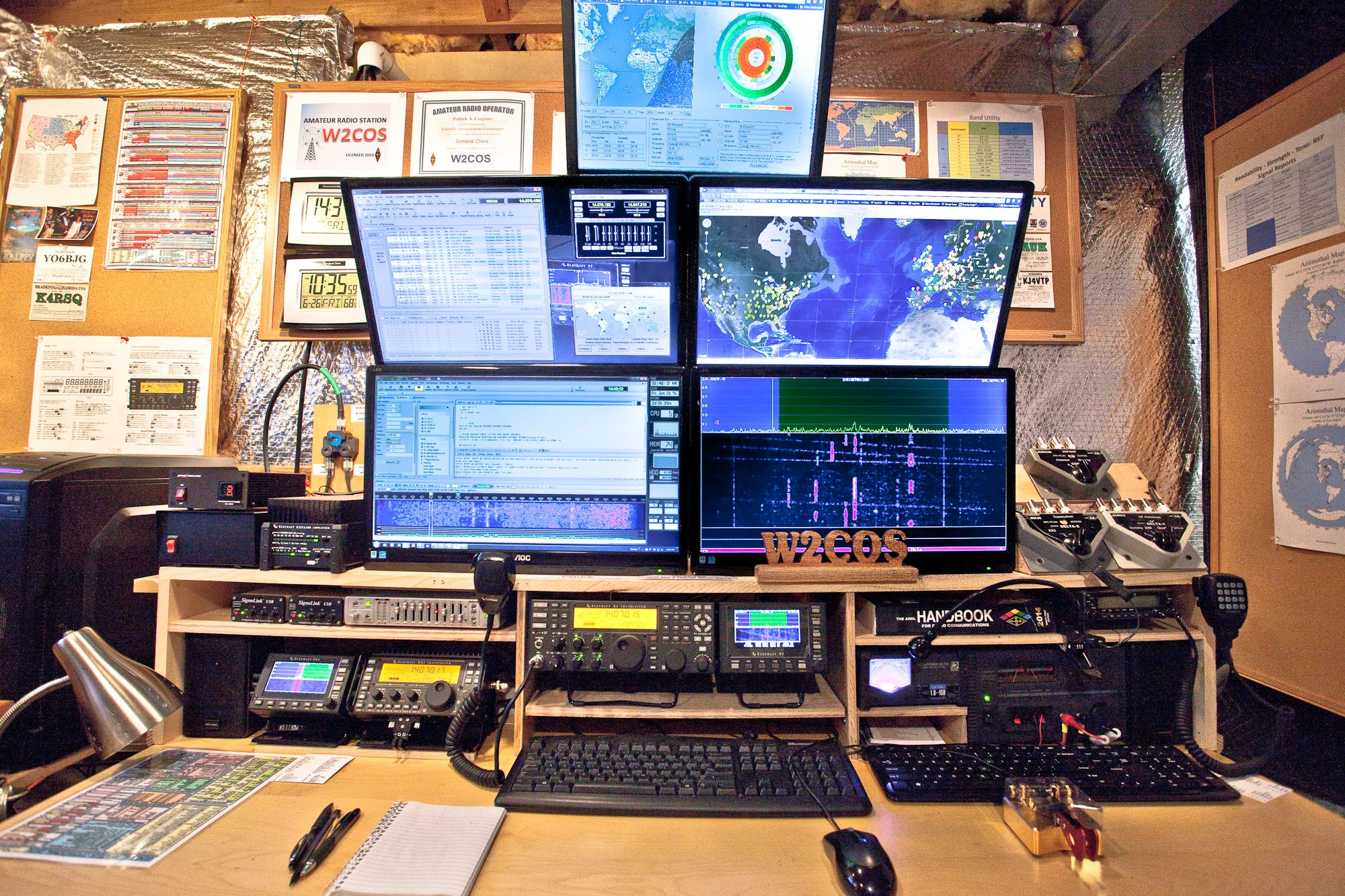 Amateur Radio Station Wb4omm: Drag To Resize Or Shift+drag To Move