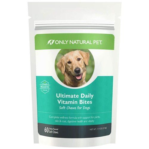 Only Natural Pet Ultimate Daily Vitamin Bites Dog 60 Chews