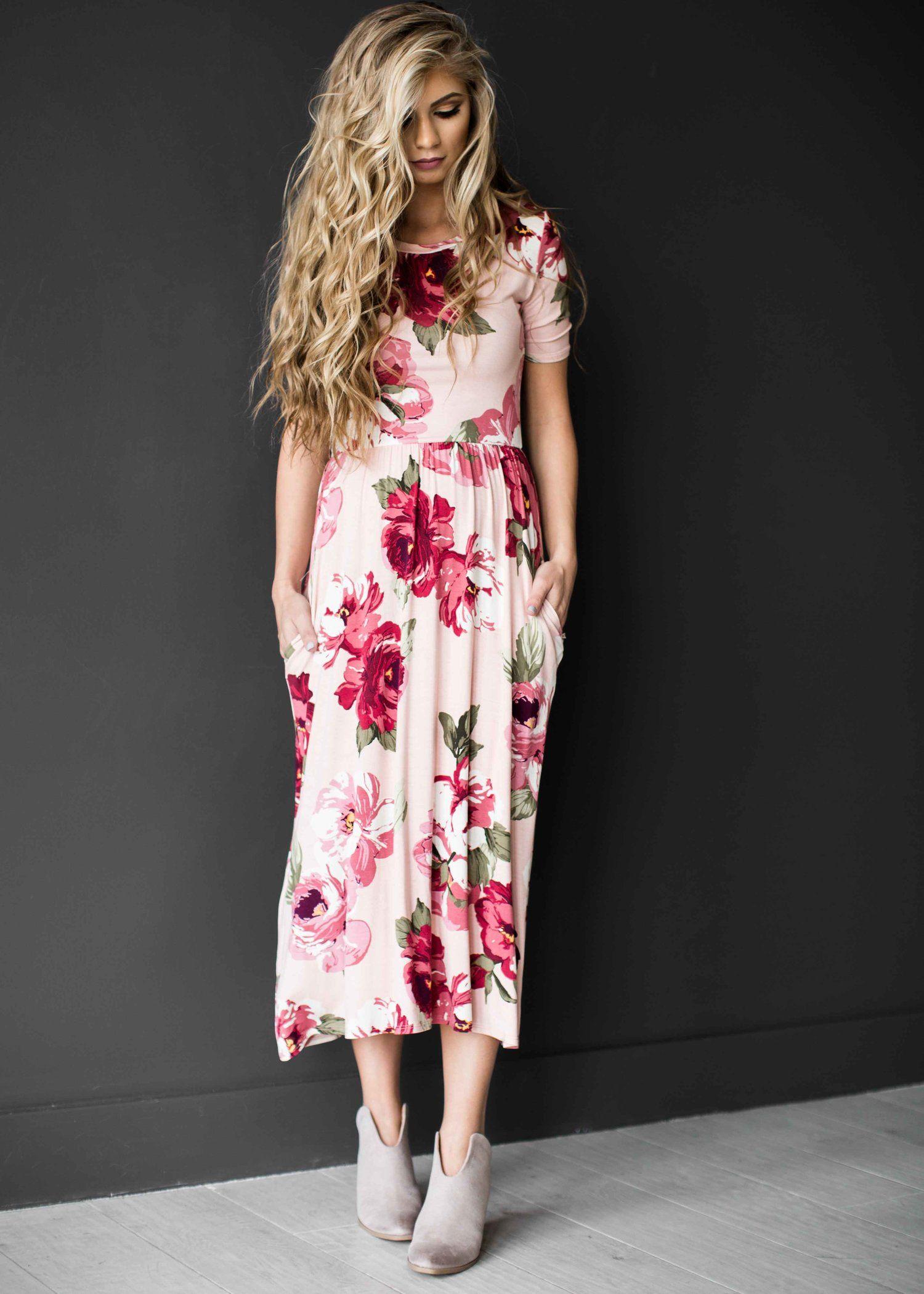 Midi Dress Easter