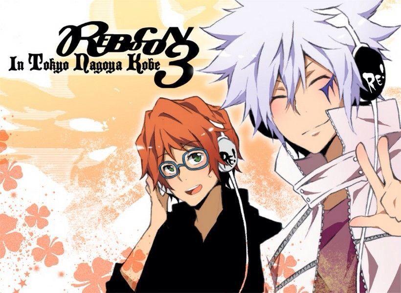 Shoichi and Byakuran. KHR | Reborn katekyo hitman. Hitman reborn. Hitman