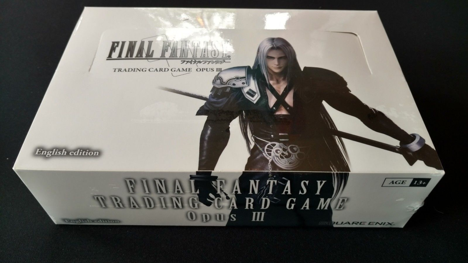 FINAL FANTASY TCG OPUS 4 IV BOOSTER SEALED BOX 36 PACKS ENGLISH BRAND NEW