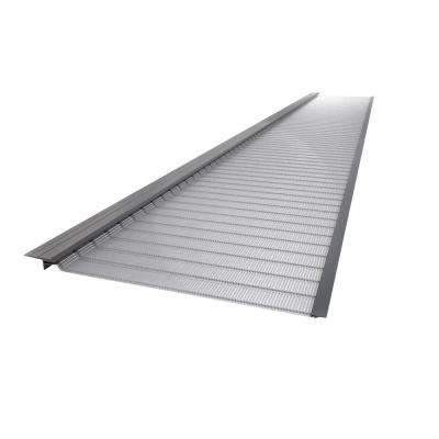 Gutter Guard By Gutterglove 4 Ft Stainless Steel 6 In Micro Mesh Gutter Guard 20 Pack Silver Gutter Accessories Gutter Protection Stainless Steel