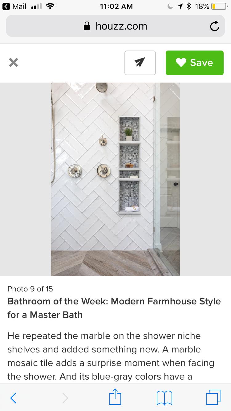 Pin by Beth Burvant on Bathroom Modern farmhouse style
