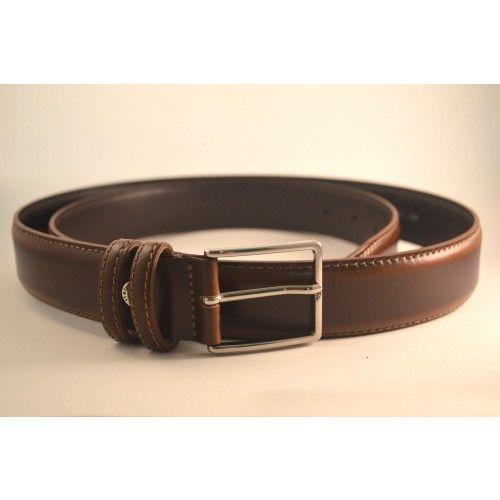 Ceinture Cuir Premium Homme Boucle Fine Marron   Leathercraft   shoe ... b763853ce6c