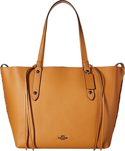 8541b2fa7c COACH Women s Wiplash Large Market Tote Dk Light Saddle Cloud Handbag Cute Tote  Bags