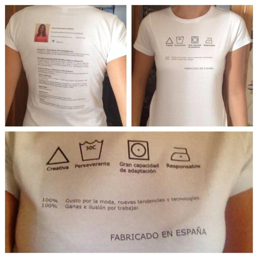 Nuevos formatos para el #cv! La periodista Inma Segura Callejón ...