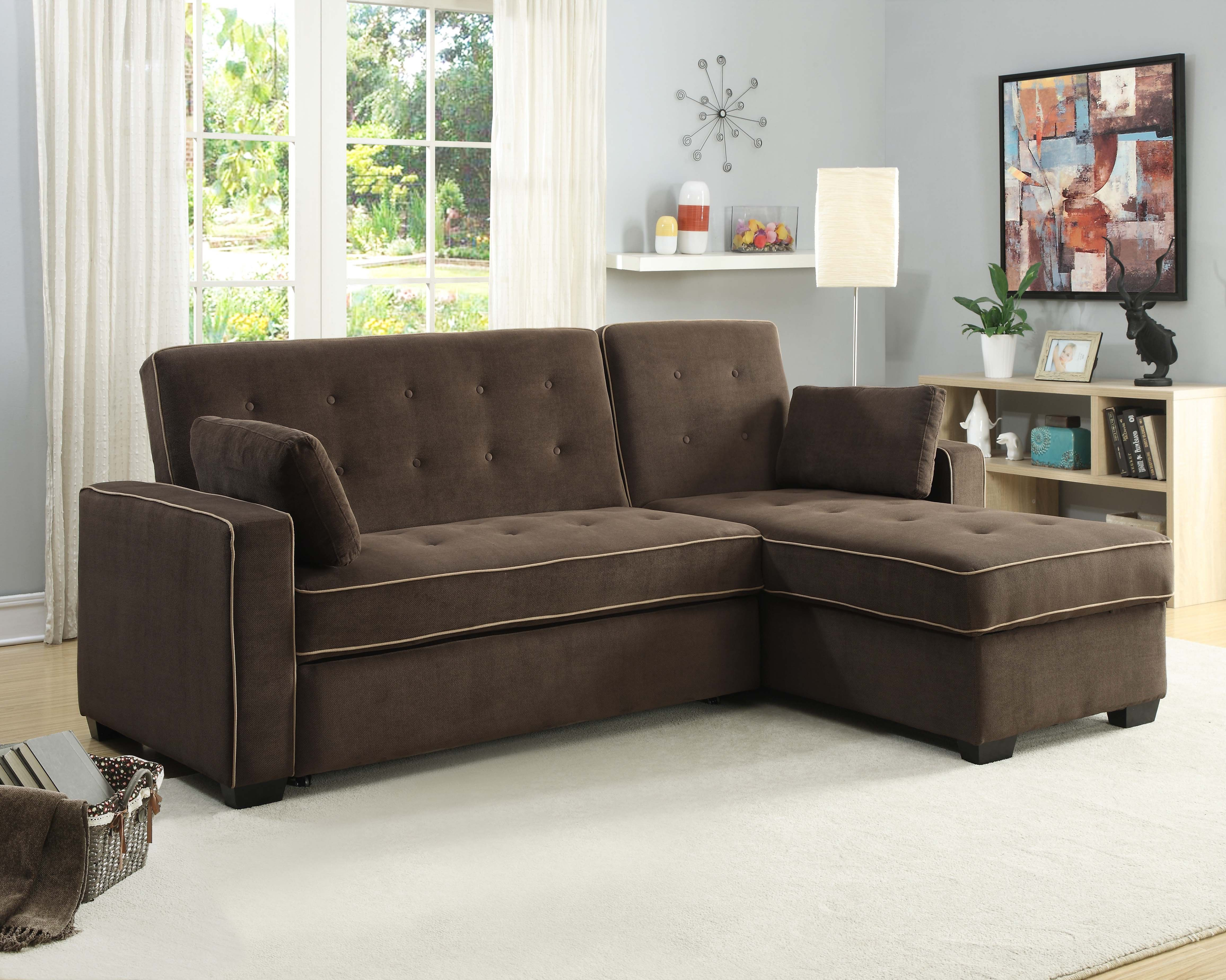 Sofa lounger pictures to pin on pinterest - 4 Seat Functions Sofa Lounger Bed And Chaise King Size Sleeper
