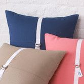 Found it at Wayfair - Southern Tide D-Ring Cotton Pillow