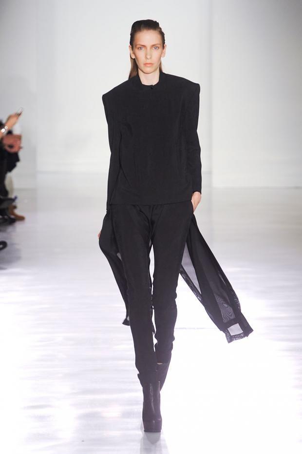 Jeremy Laing / AW12 / New York Fashion Week