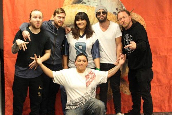 Casper Fans Meet N Greet Shinedown Photos Kiss Fm Fan Concert