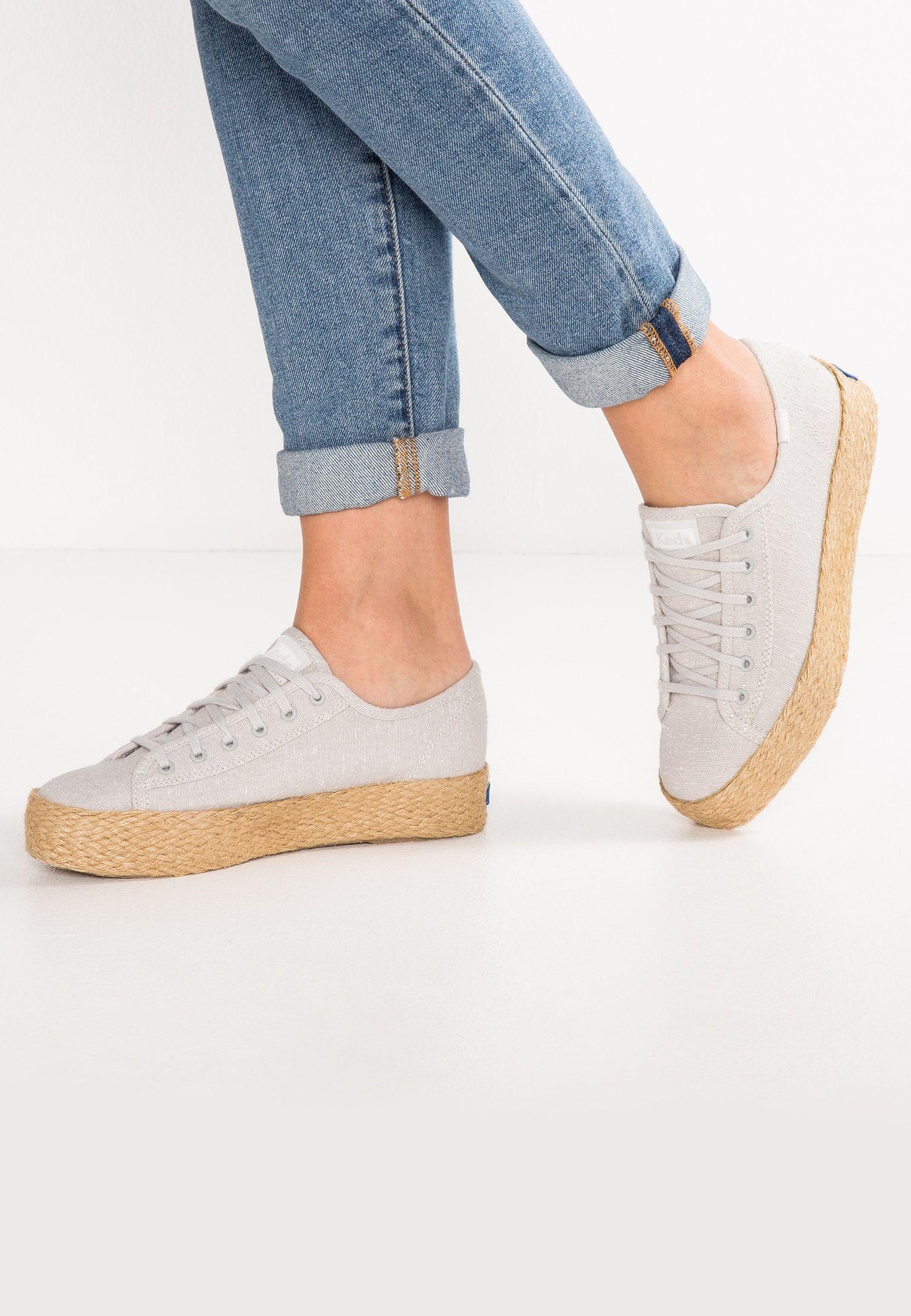 7d1fb1e09 TRIPLE KICK - Espadrille - light gray @ Zalando.de 🛒 | sneakers ...