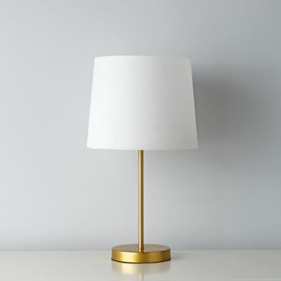 From Land Of Nod But Why Limit It To Kids Rooms Comes In White And Silver Too Rock Lamp Geometric Lamp Gold Geometric Lamp