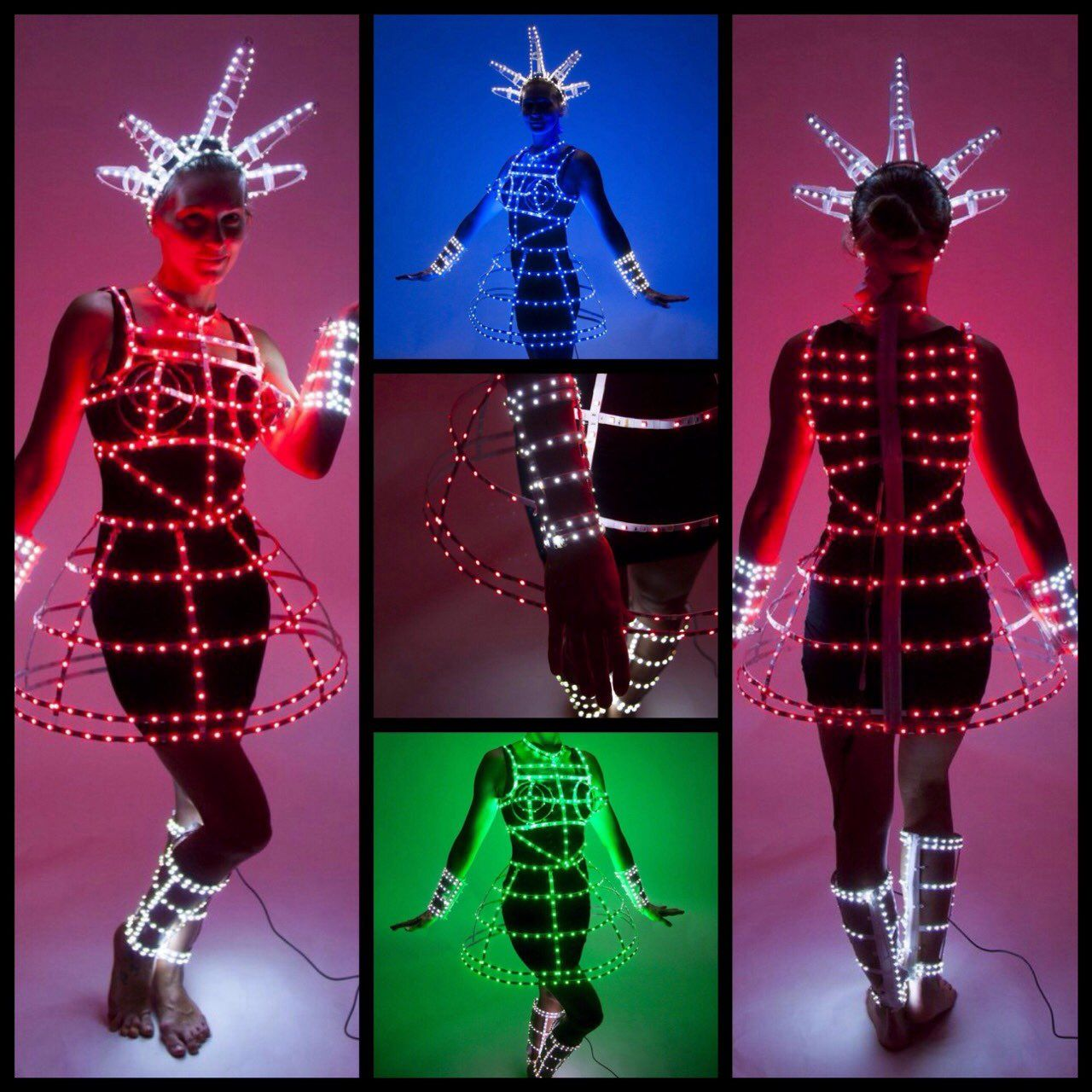 LED RGB dress custom design :) ETEREshop