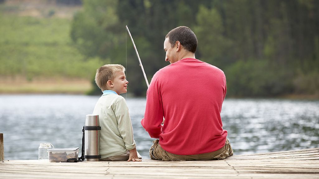 molo a rybáři