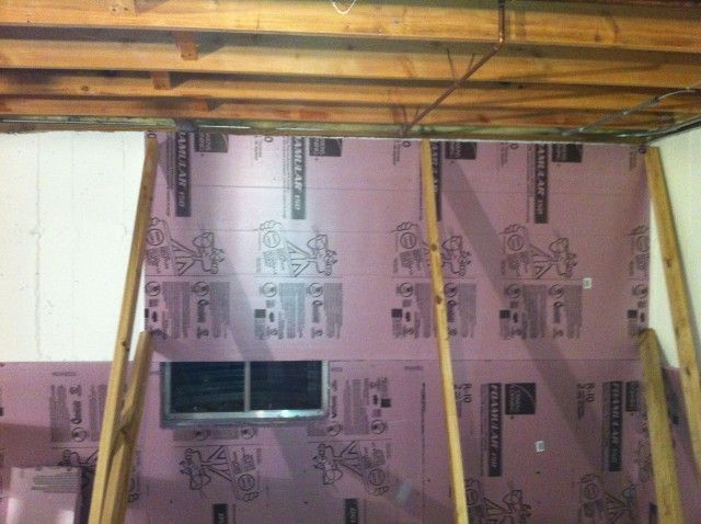 Installing Rigid Foam Insulation For Your Basement Rigid Foam Insulation Basement Insulation Installing Insulation