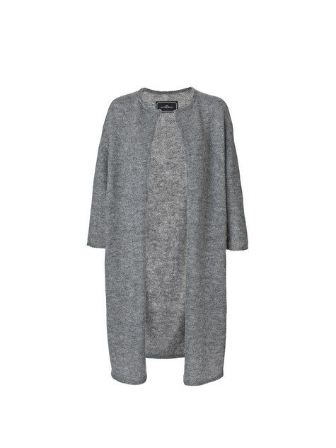 malene birger cardigan grå