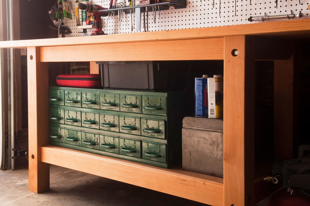 How to Make the Ultimate Garage Workbench
